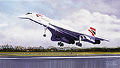 Concorde - Aviation Art