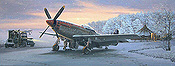 Early Morning Light - P51 Mustang