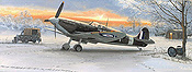Spitfire Dawn Aviation Art