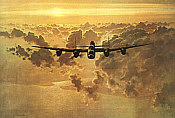 Gerald Coulson: Lancaster Outbound, Avro Lancaster