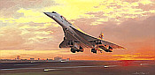 Aviation Art by Adrian Rigby: Flying into History, Concorde