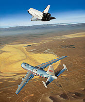 Space Shuttle und NASA 747 Shuttle Traeger - Free Enterprise