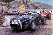 Nicholas Watts: Monaco Grand Prix 1961, Stirling Moss im Lotus 18