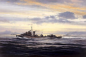Robert Taylor: HMS Kelly