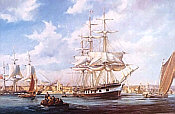 Robert Taylor: Liverpool Harbour 1880