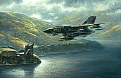 Aviation Art by Ronald Wong - Tornado GR1